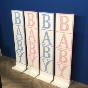 Baby backdrop set 1